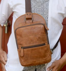 Tas kulit backpack 2