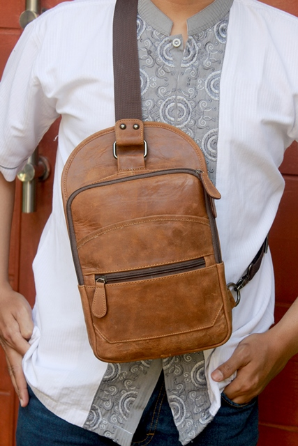 Tas kulit backpack 2