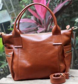 Jual tas kulit wanita asli garut