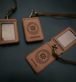 jual id card holder kulit