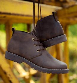 cara merawat sepatu kulit crazy horse
