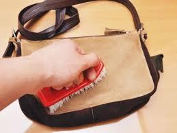 cara merawat dan membersihkan tas kulit suede