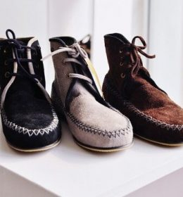 cara merawat sepatu kulit suede